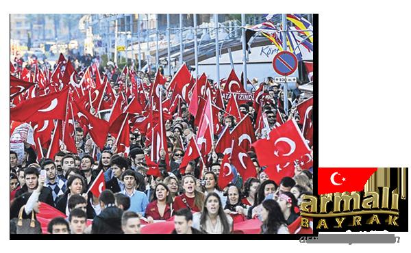 Dış Mekan Türk Bayrağı